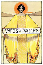 Votes for Women Poster, Sufferage, Equal Rights