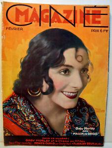 "RARE REVUE CINEMA - 02 / 1931 - N°2 - "" CINEMAGAZINE ""  - 74 PAGES"