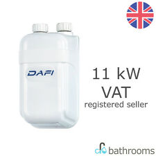 Dafi IPX4 11kW Instant Water Heater Flexible Electric Hot Water 400V