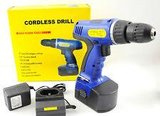 High Power Tools 18V Cordless Drill w/ Keyless Chuck