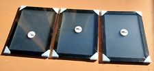 Set of 3 Brand New Black Picture Frames 11x16