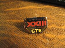Super Bowl XXIII Pin - '89 NFL Football Game Bengals 49ers GTE Vintage Lapel Pin