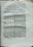 1796 RIVISTA: COLTIVAZIONE DEI BOSCHI, ALMANACCO PER I CONTADINI BERGAMASCHI