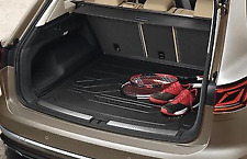 Genuine Volkswagen Touareg Boot Tray Liner Mat Plastic Protector (2019-ON) D2 76