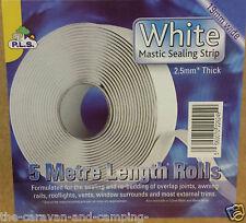 Caravan Mastic Sealing Strip 19mm x  2.5mm x  5m Roll  - Soft Bedding Sealant