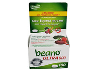 Beano Ultra 800 Gas Prevention | Bloating Relief  130Tablets