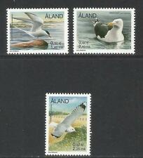 Aland 2000 Sea Birds-Attractive Topical (86, 95, 99) Mnh