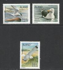 Aland 2000 Sea Birds--Attractive Topical (86, 95, 99) MNH