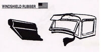 Ford Car and Pickup Truck Windshield / Windscreen Seal Sides & Bottom 1928-1934