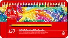 CARAN d'Ache Supracolor Acquerello Matita 120 colori TIN