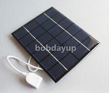 2W 6V USB Mini Solar Panel Module Solar System Solar Epoxy Cells Charger B @US