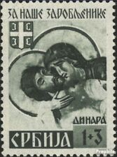 Servië (Duits.Cast.2.Oorlog.) 55II postfris 1941 Krijgsgevangenen
