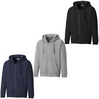 Dickies Redwood Hoodie Mens Full Zip Hooded Work Sweatshirt Jumper SH11500