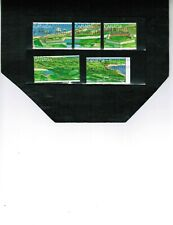 CANADA 1995  FORTRESS OF LOUISBOURG, N.S. cat # 1547-51 USED cat $5.00 BK 451