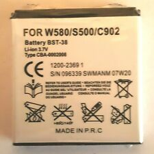 NEW BST-38 BATTERY FOR C510 C902 K850 T303 W995 AND VARIOUS SONY ERICSSON PHONES