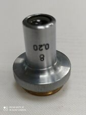 Objective For Microscope 8x 020 No 8230201 Lomo Ussr