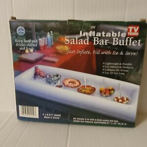 Inflatable Salad Bar Buffet- Item is New with box.
