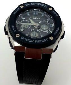 Casio G-Steel Alarm Radio Controlled Watch GST-W300-1AER