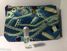 Estee Lauder PLEASURES EXOTIC mini 4ml EDP miniature bottle & Cosmetic Bag