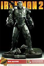 Sideshow Exclusive Iron Man War Machine Maquette Statue Avengers Movie Bust