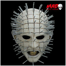 HELLRAISER Pinhead Latex Collectors Mask - HALLOWEEN Horror Film Costume SCARY