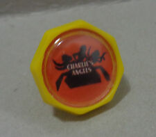 CHARLIE ANGELS rare plastic ring collectible toy premium  ARGENTINA