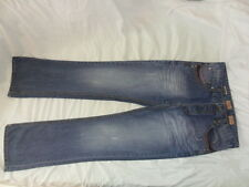 Womans denim jeans 32L Next Vintage denim Slimmer leg boot button fly 5 pockets