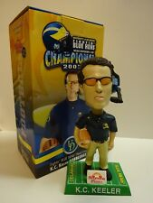 UNIVERSITY OF DELAWARE BLUE HENS KC KEELER BOBBLEHEAD 2003 Football Champs coach