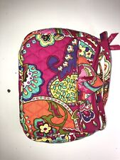 Vera Bradley Large Coss Body Purse Handbag With Matching Wallet Pink Floral Mult
