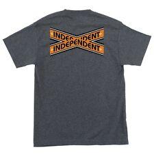 Independent Trucks Intersect Skateboard T Shirt Charcoal Heather Xxl