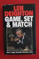 GAME, SET & MATCH by Len Deighton - 3-Books-in-1 (Hardcover/DJ, 1988)