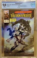 Venomverse #1 TCM Ultimate Crain Variant, CBCS 9.8 NM/M, Only 250