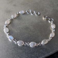 Unbehandelte Echtschmuck-Armbänder für Damen mit Mondstein