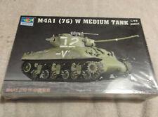 Trumpeter 1:72 M4A1 (76) W Sherman Medium Tank Model 07222