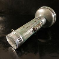 Lampe torche WONDER type CADIX métal verre art déco Design XXe France N3347