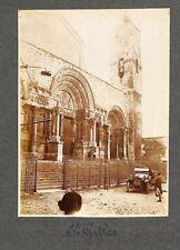 """PHOTO DE QUALITE """" SAINT-GILLES-DU-GARD """" 1926"""