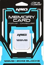 128MB MEMORY CARD FOR NINTENDO GAMECUBE Wii 2043 BLOCK  KMD (NEW & SALED)