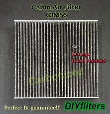 C36156 CARBONIZED Cabin AIR FILTER For Durango 11-16 Grand Cherokee 11-16