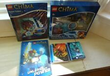 LEGO Chima lot of 5 school supplies: notebooks, folders, stationery set stickers