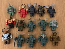 Mega Bloks Dragon Knights/Warrior Figures