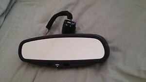 FACTORY OEM 95 - 03 JAGUAR XJ6 XJ8 XK8  AUTO DIM INTERIOR REAR VIEW MIRROR
