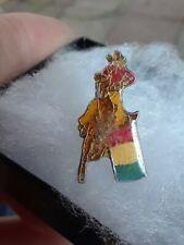 1 Equestrian Horse Barrel Racer. Hat Pin Tie Pin Lapel Pin Vintage