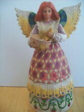 "Jim Shore Heartwood Creek ""Angel Of Contentment"" Figurine #108923 2002"