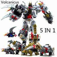 Transformers Volcanicus BPF Power of the Primes Action Figure Dinobot Toy KO.ver