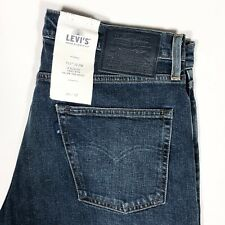 Levi's 511 LMC Made Crafted Blank Tab Italian Selvedge Denim Jeans Slim Stretch