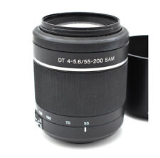 Sony 55-200mm f/4.0-5.6 DT Alpha A-Mount Telephoto Zoom Lens - SAL55200/2