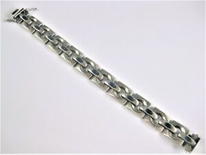 Armband Silber 925 mit Emaille, 27,25 g