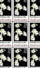1989 - NORTH CAROLINA STATEHOOD - #2347 Full Mint Sheet of 50 Postage Stamps