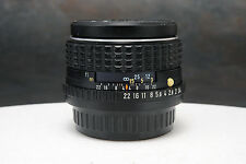 - SMC Pentax-M 50mm f1.4 Lens Pentax K Bayonet for Film or Digital