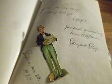 Poesiealbum 1917-20 Berlin 47 Einträge Autograph Dr. Georgine Tangl Oblaten